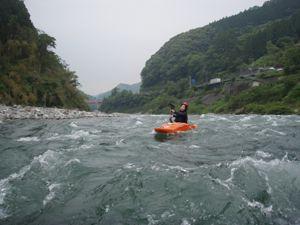 カヤック吉野川
